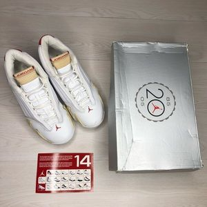 Nike Air Jordan Retro 14 'Linen Sand' Women Size 9